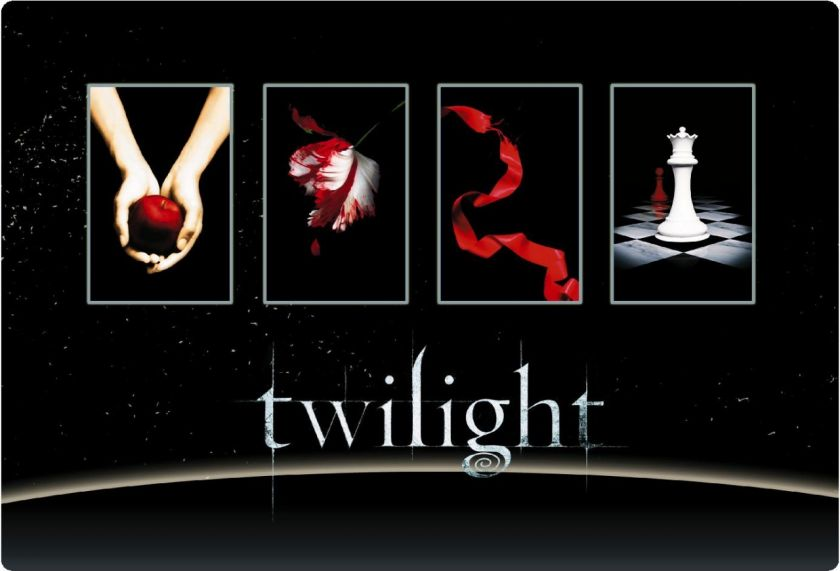 TWILIGHT ECLIPSE laptop netbook skin cover sticker #108