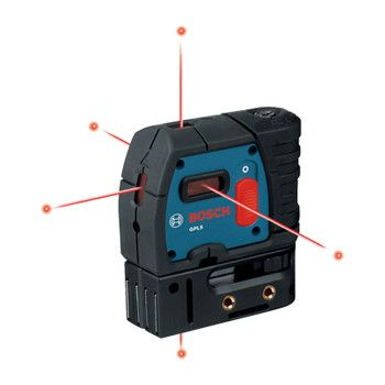 Bosch 5 Point Self Leveling Alignment Laser GPL5 RT 000346433326